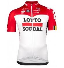 LOTTO SOUDAL SPL Aero short sleeve long zip jersey 2018