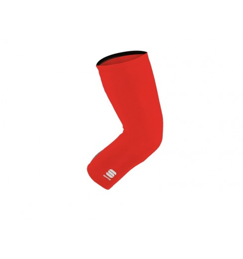 SPORTFUL knee warmers red