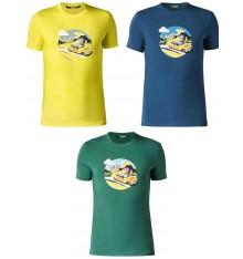 MAVIC  Tee-shirt Mavic service course yellow car