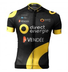 DIRECT ENERGIE maillot manches courtes zip long 2018