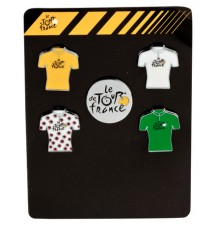 TOUR DE FRANCE set de 5 pins 2018
