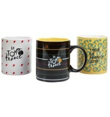 TOUR DE FRANCE 3 mugs set 2018