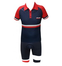 RAFA'L Vintage France red blue cycling set 2018