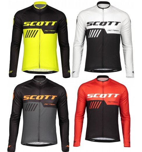 SCOTT maillot manches longues homme RC TEAM 10 2019