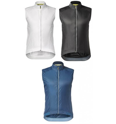 MAVIC gilet coupe-vent léger Essential Wind 2019