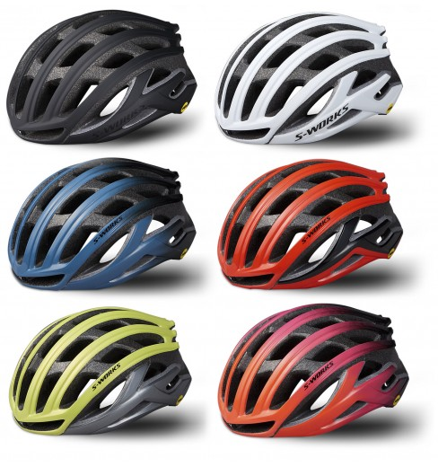 SPECIALIZED casque route S-Works Prevail II Angi MIPS 2019