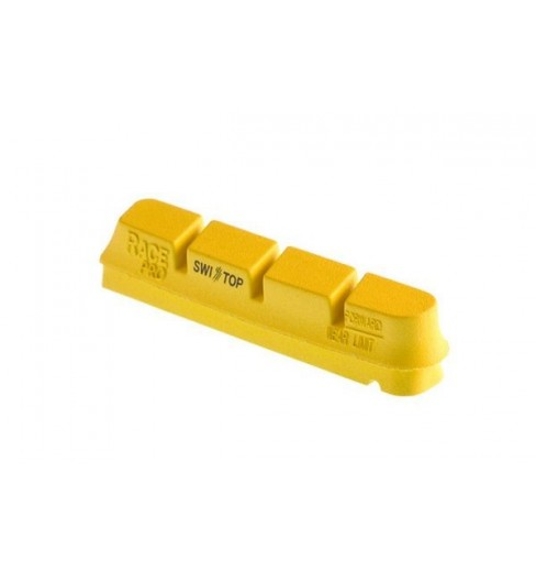 Patin CAMPAGNOLO de frein Swisstop Carbon jaune