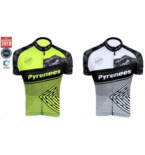 BJORKA maillot vélo manches courtes Pyrénées 2019
