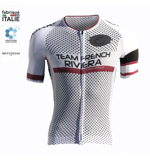 BJORKA TEAM FRENCH RIVIERA short-sleeve cycling jersey 2019
