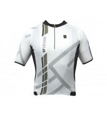 EF DESIGN white Tech short sleeves jersey