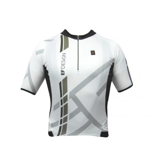 EF DESIGN white Tech short sleeves jersey