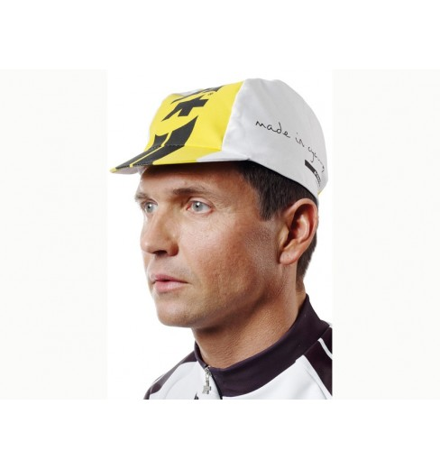 Assos fluo yellow summer cap