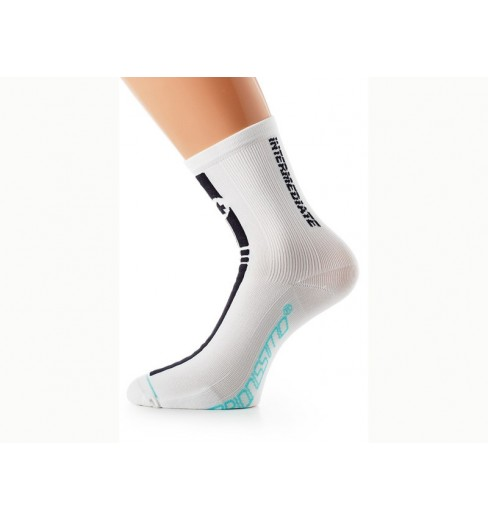 ASSOS Socquettes Intermediate blanches