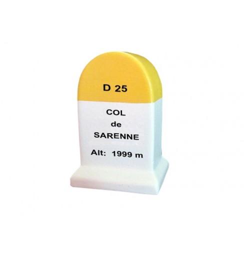 COL DE SARENNE mileston little model