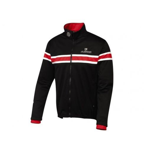 BJORKA veste d'hiver noir / rouge
