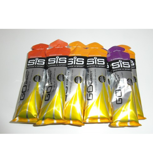 SIS Pack 10 gels GO ISOTONIC 60ML