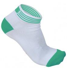 Socquettes SPORTFUL SHOW pour femmes vert pomme blanc 2014