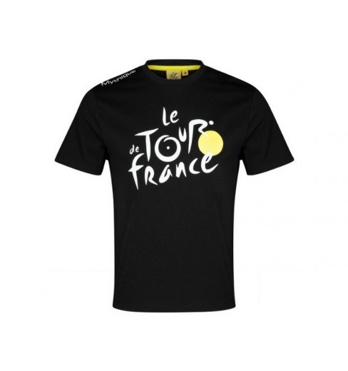 TOUR DE FRANCE Tee-shirt LOGO noir