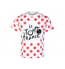 TOUR DE FRANCE T-shirt LEADER à pois