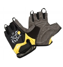 TOUR DE FRANCE Gants adulte jaunes
