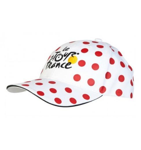 TOUR DE FRANCE casquette FAN à pois