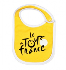 TOUR DE FRANCE Bavoir bébé officiel jaune