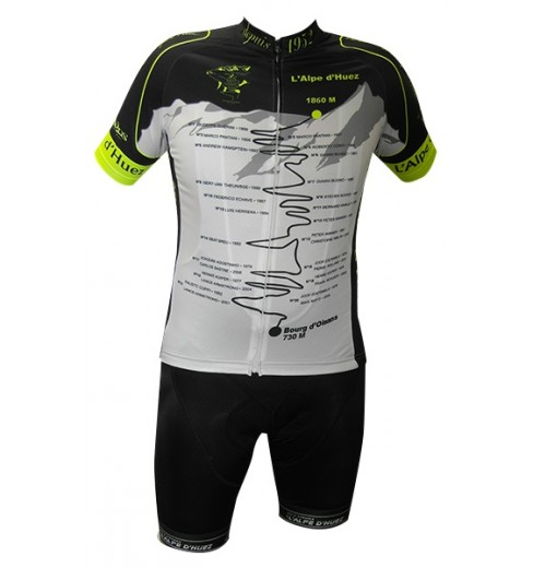 ALPE D'HUEZ WINNERS kit  with neon yellow jersey