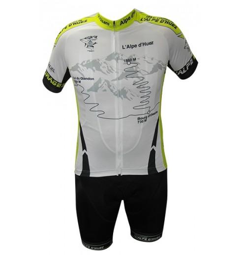 ALPE D'HUEZ kit wih white/green jersey