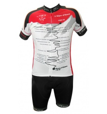 ALPE D'HUEZ WINNERS kit with white/red jersey