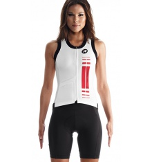 ASSOS woman jersey SuperLeggera red