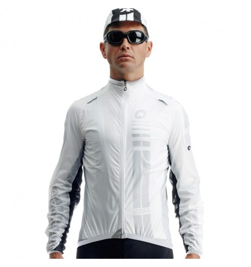 ASSOS veste coupe-vent sJ.blitzFeder blanc