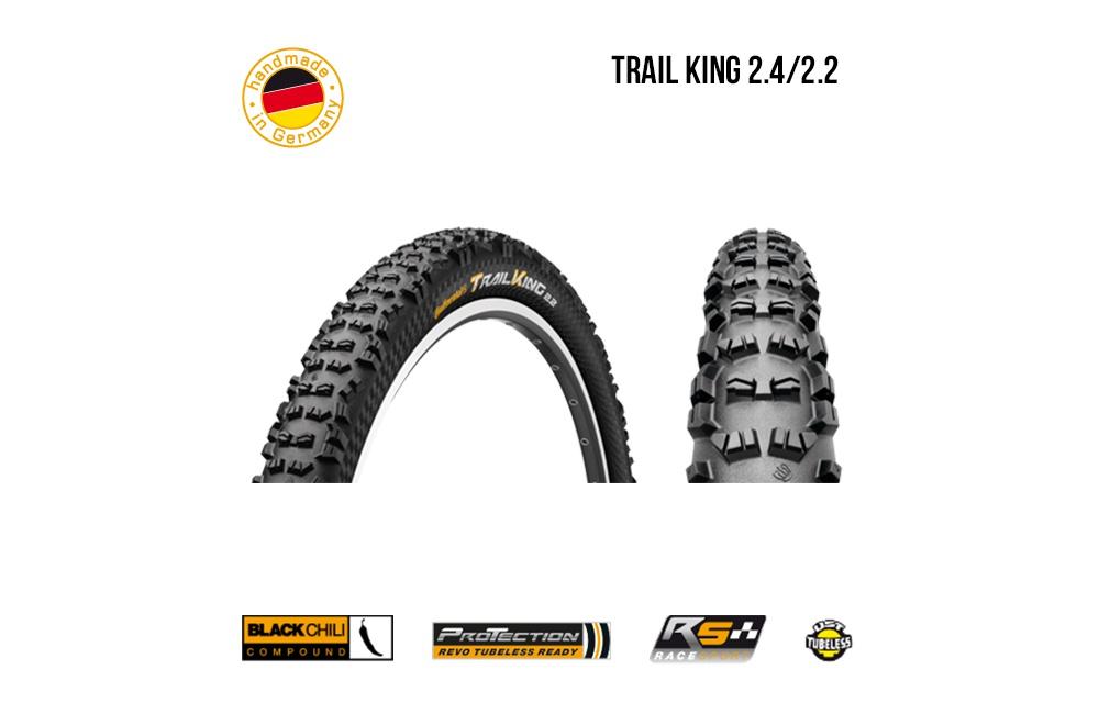 continental pneu vtt trail king 29x2 4 cycles et sports. Black Bedroom Furniture Sets. Home Design Ideas