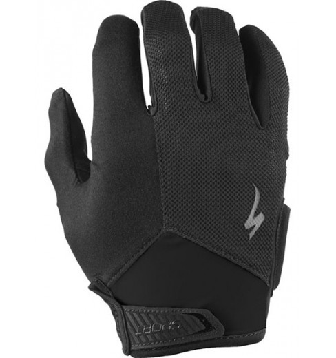 SPECIALIZED Sport Long Finger black gloves 2017