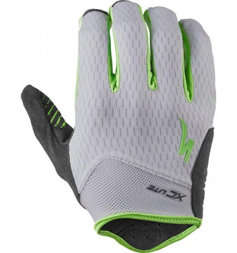 SPECIALIZED XC Lite green/grey gloves 2016