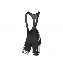 SPECIALIZED RACING black white bibshort