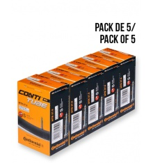 Pack of 5 CONTINENTAL MTB 27.5 inner tubes