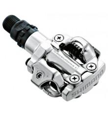 Shimano MTB M520 silver pedals