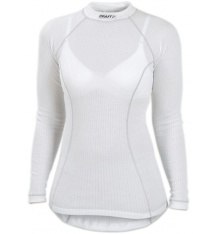 CRAFT BE ACTIVE Sous vêtement femme ML blanc