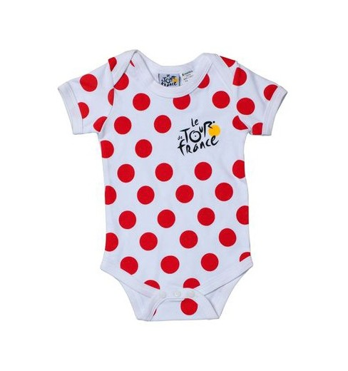 TOUR DE FRANCE Body bébé officiel à pois