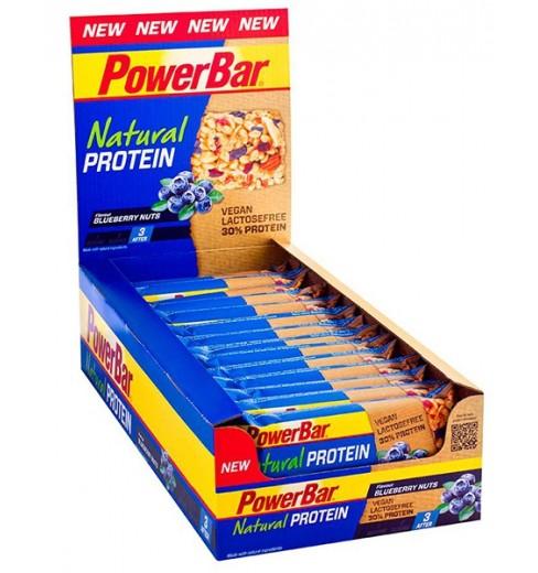 POWERBAR Natural Protein bars box (24x40gr)