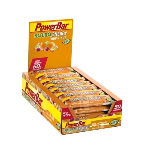 Boite de barres POWERBAR Natural Energy Fruit& Nut (24x40gr)