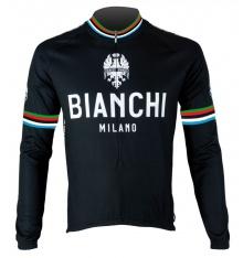 BIANCHI MILANO Leggenda black long sleeves jersey 2019