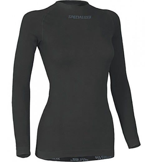 SPECIALIZED women seamless long sleeve base layer