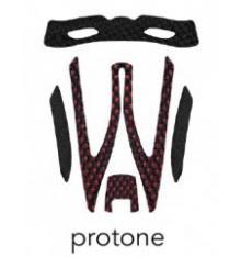 KASK mousse de casque Protone