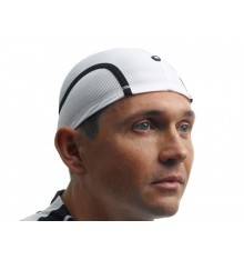 White Assos sub-helmet