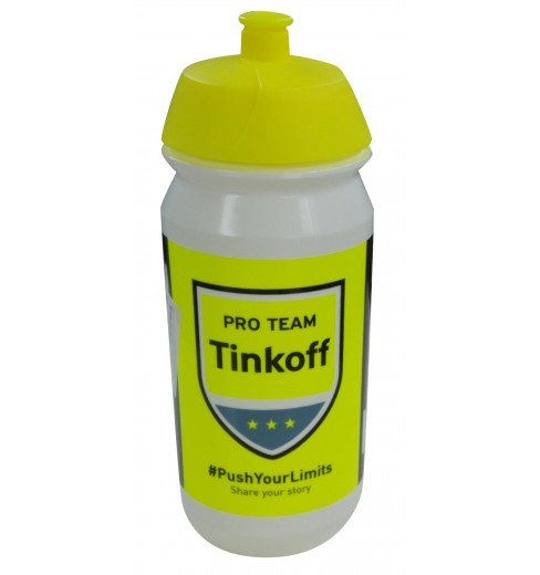 TACX Tinkoff Saxo water bottle 2016