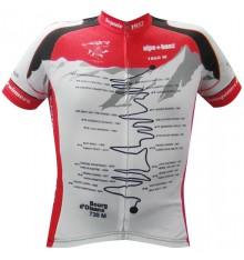 ALPE D'HUEZ maillot manches courtes Vainqueur noir rouge 2017