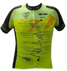 ALPE D'HUEZ Winner yellow fluo short sleeves jersey 2017