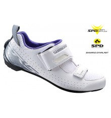 Chaussures triathlon femme SHIMANO TR500 2019