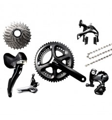 Shimano 105 5800 black groupset - 11 speed